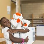 Il bambino autistico e l'amico robot