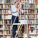 Umberto Eco, la biblioteca e l'arte di disporre i libri